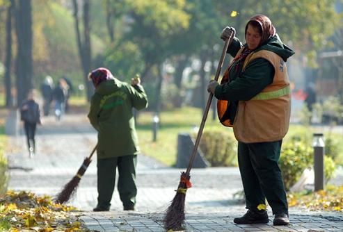 жалобу на плохую уборку двора